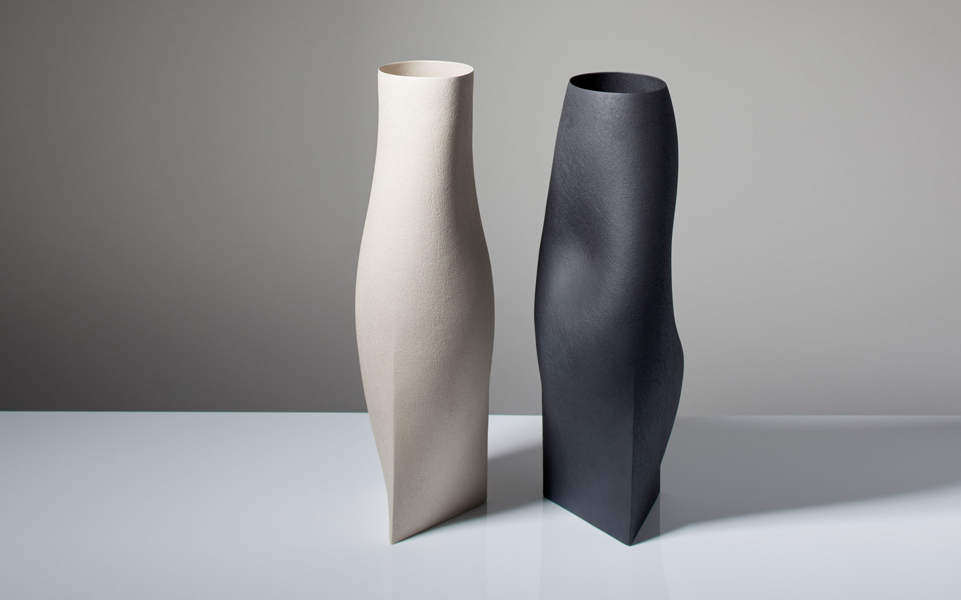 Black and Grey Vessels