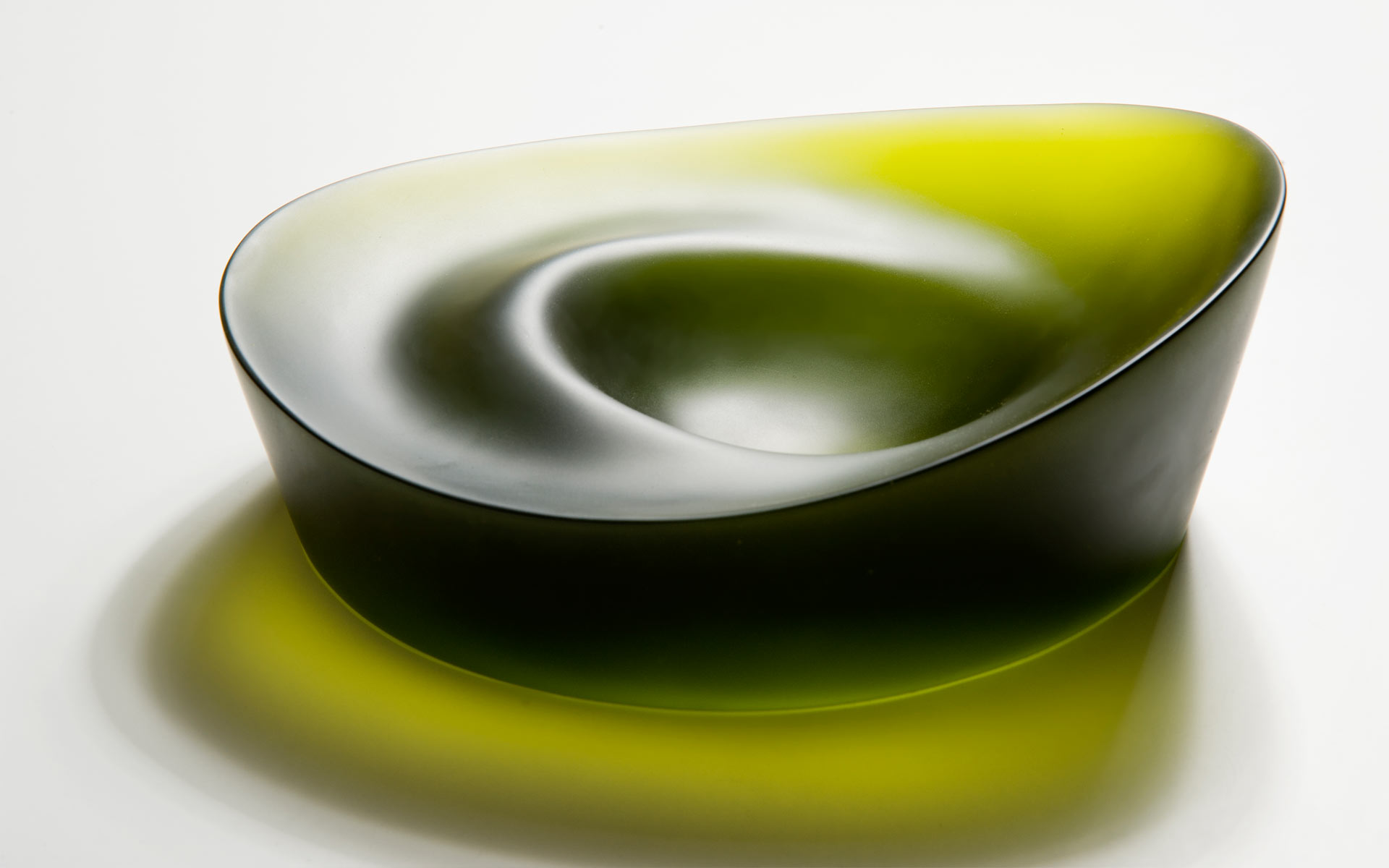 Olive Green Bowl Form